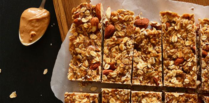 Source: http://minimalistbaker.com/healthy-5-ingredient-granola-bars/