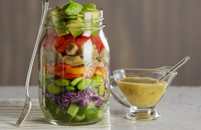 Source: http://www.californiaavocado.com/blog/seven-layer-avocado-salad-mason-jar