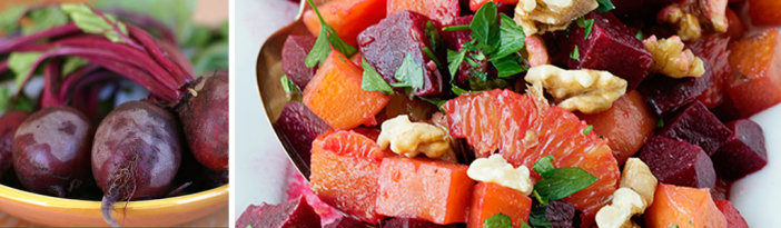 Roasted Beet And Orange Salad by Baked Bree